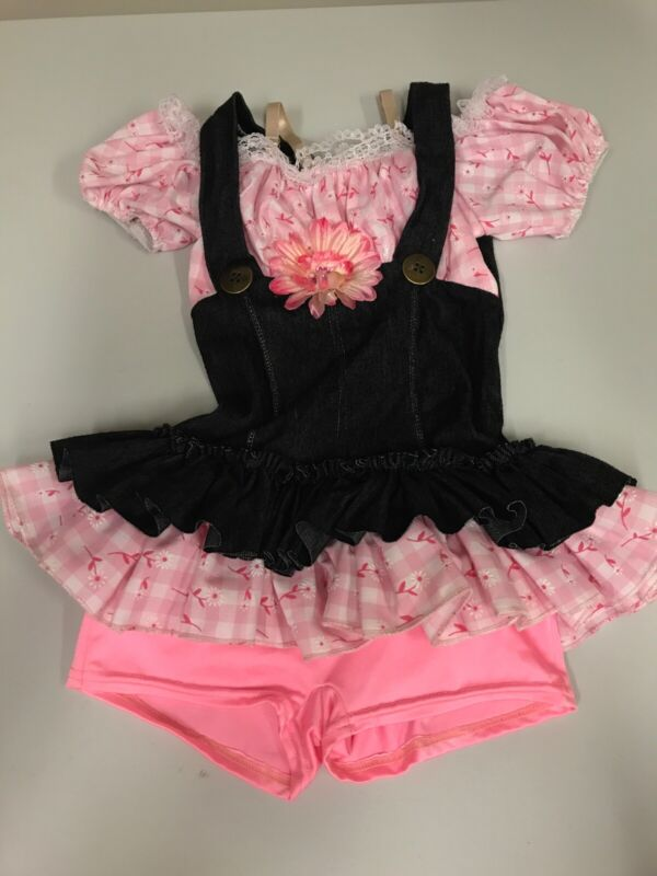 Girls Country Dance Costume Outfit Dress Size 7/8
