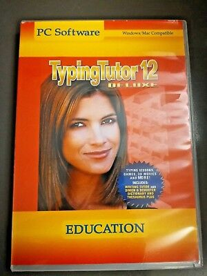 Typing Tutor 12 PC Win Learn To Type Faster On Computer Keyboard Better