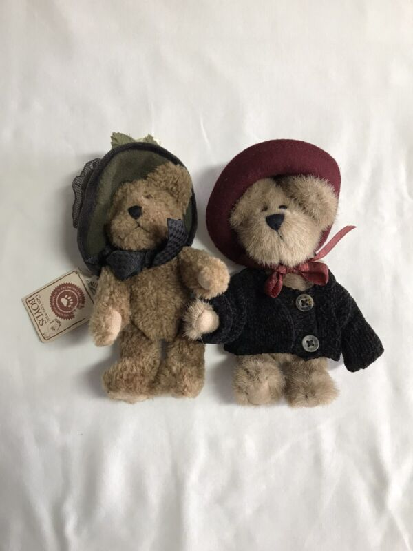 2 Boyds Bears Retired Monique Labearsley and Friend