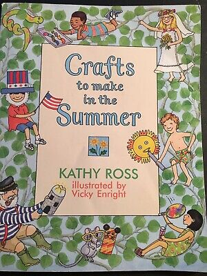 Crafts to make in the Summer, 29 crafts Easy picture directions for younger kids](Summer Crafts For Kids)
