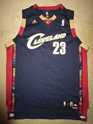 brand new 1ceec bbb3d LeBron James  23 Cleveland Cavaliers NBA Finals Jersey Youth XL 18-20  children