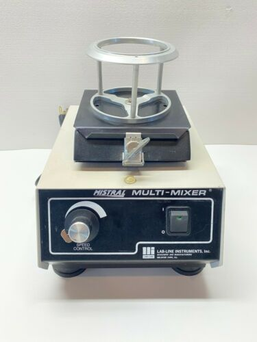 LAB-LINE Instruments Mistral Multi-Mixer Model 4600 With Warranty