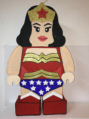 Wonder Woman Pinata (Inspired Wonder Woman pinata. Birthday Party decoration. Wonder woman Pinata.)