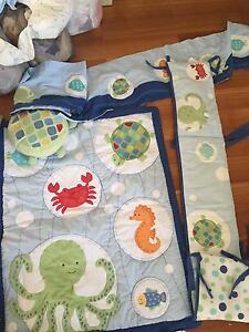 """*Nearly new /new cot """"under the sea"""" bedding set Kenwick Gosnells Area Preview"""