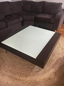 Cedar Dark Brown Coffee Table Liverpool Liverpool Area Preview