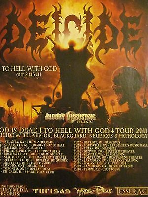 Deicide, To Hell With God, Full Page Promotional Ad