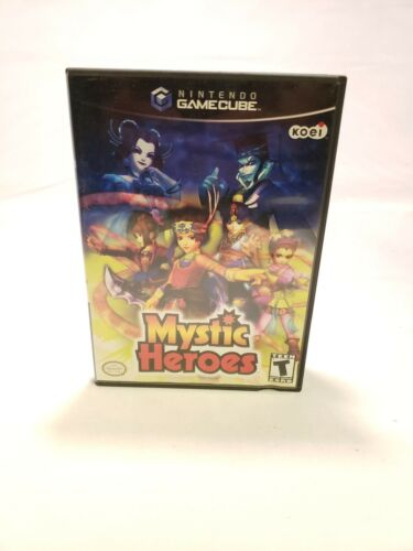 Mystic Heroes Nintendo Gamecube Complete *FAST SHIPPING*