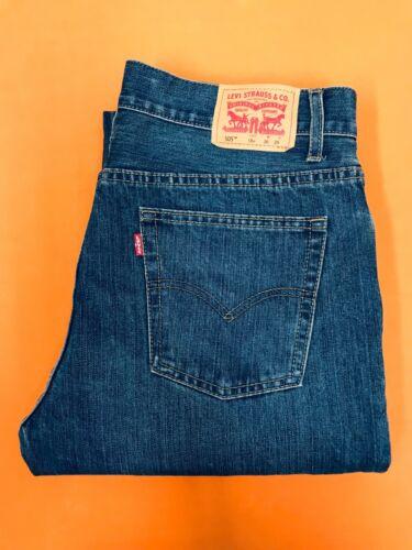Levi Strauss 505 18 Husky Vintage Blue Jeans Size 36 x 29