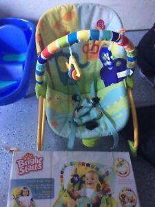 Chaise balançoire pour bébé 2en1