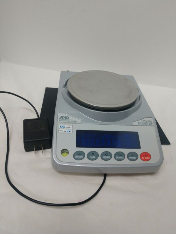 AND Weighing FX-3000i Digital Compact Bench Scale