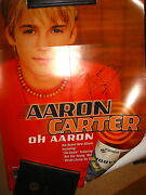 Aaron Carter Signed