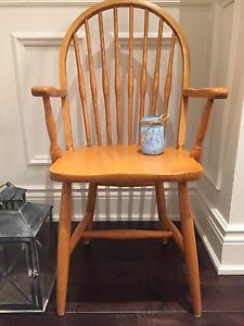 Mennonite Made Windsor Spindle Dining~Kitchen Oak Chairs