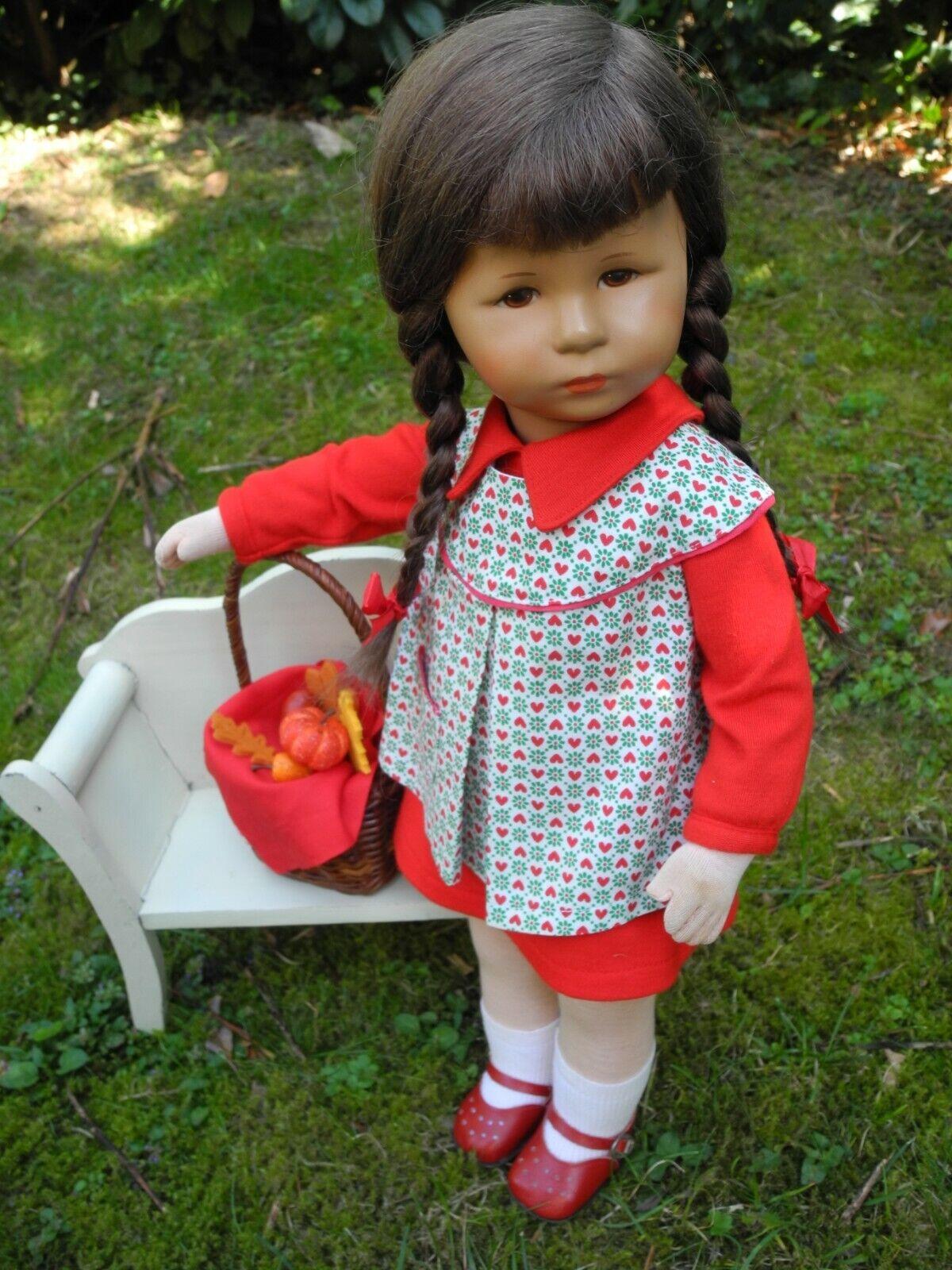 Käthe Kruse Puppe SARAH 1978 47cm