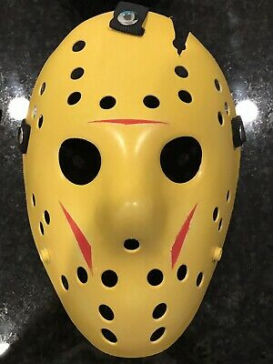 Friday The 13th Jason Voorhees Custom Painted Mask Jason Takes Manhattan Part