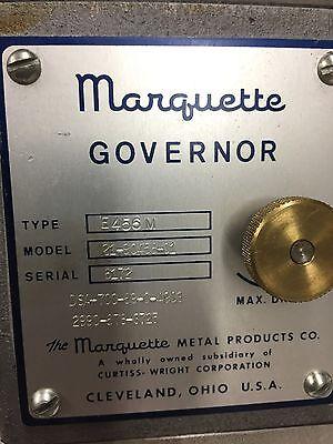Marquette Governor Type  E456m Model 21-90456-01 Detroit Diesel Generator