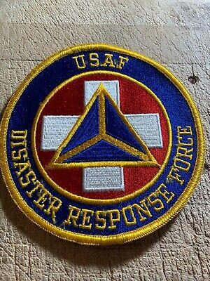 Cold War/Vietnam? US AIR FORCE PATCH-USAF DISASTER RESPONSE FORCE-ORIGINAL!