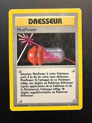 Carte Pokémon PlusPower 84/102 Set De Base