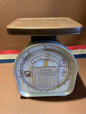 Vintage 1981 Pelouze Model Y-5 Mechanical Postal Scale Weight 5 Lb United States