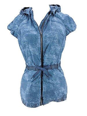 Lululemon Women's Sashiko Cross Inkwell Ghost Spring Fling Puffy Vest Size 8