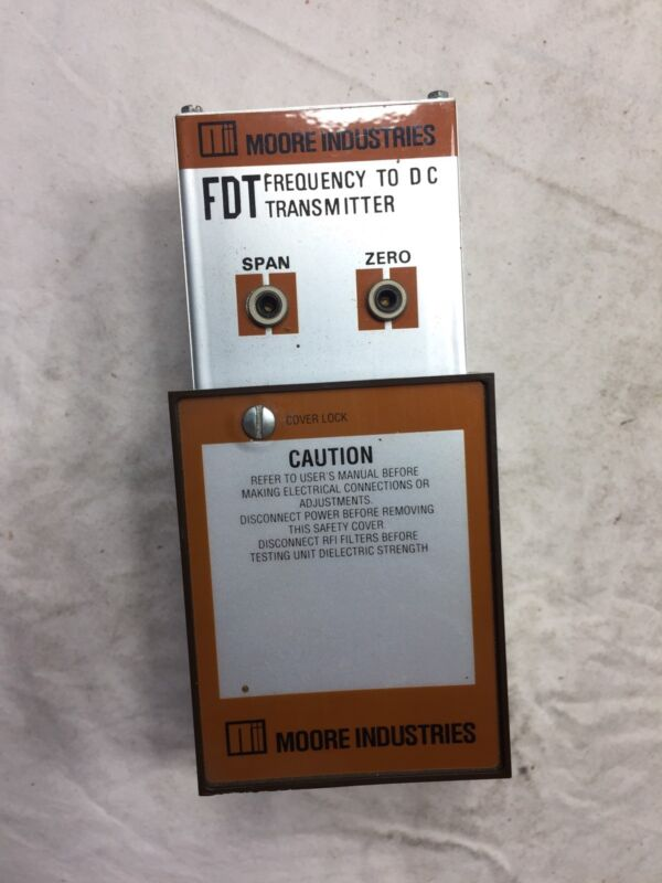 Moore Industries FDT Frequency To D.C. Transmitter