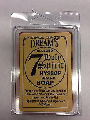 SPIRITUAL BAR SOAP 100% GLYCERIN (JABON) FOR HYSSOP 7 HOLY SPIRIT segunda mano  Embacar hacia Argentina