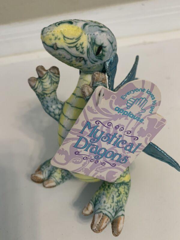 Vintage 1993 Applause Mystical Dragons Mini Plush Toy KINGSTON NWT