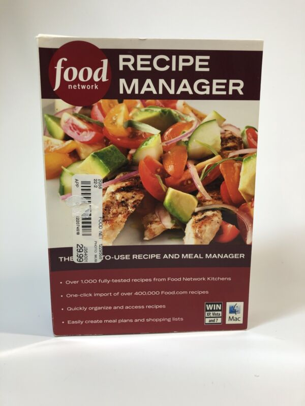 Food Network Recipe Manager 2010