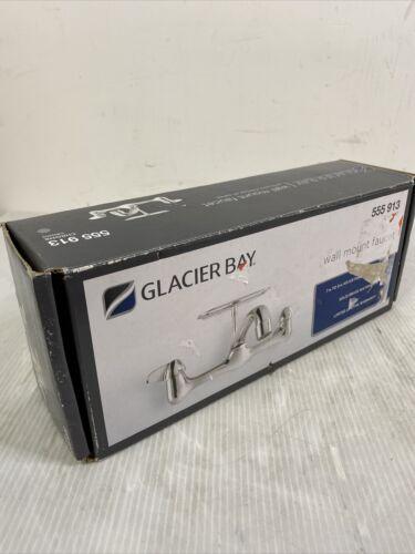 * Glacier Bay 815N-0001 2-Handle Wall-Mount Kitchen Faucet w