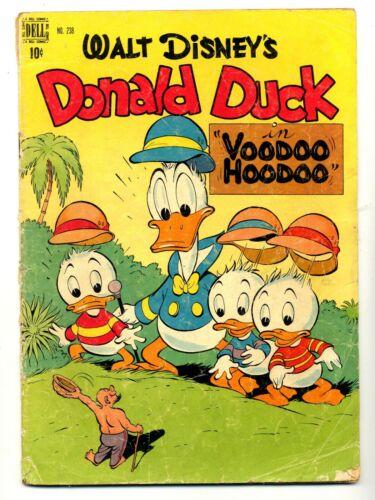 Four Color #238   Donald Duck in Voodoo Hoodoo    Carl Barks Art