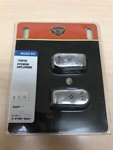 Harley-Davidson Chrome Switch extension caps