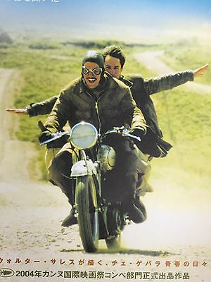 The Motorcycle Diaries Japanese movie  Handbill Flyer