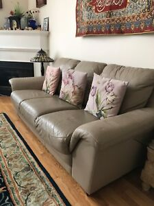 Two Leather Couches For GREAT price!