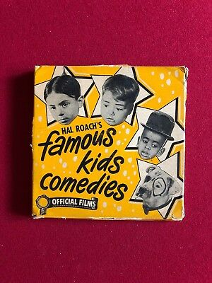 "1930's, ""Lil Rascals"" 16MM (Scarce)  (Large 8"" Reel)"