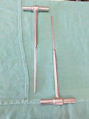 Depuy T-handle Intramedulary Reamers Set Of 2 2169-00