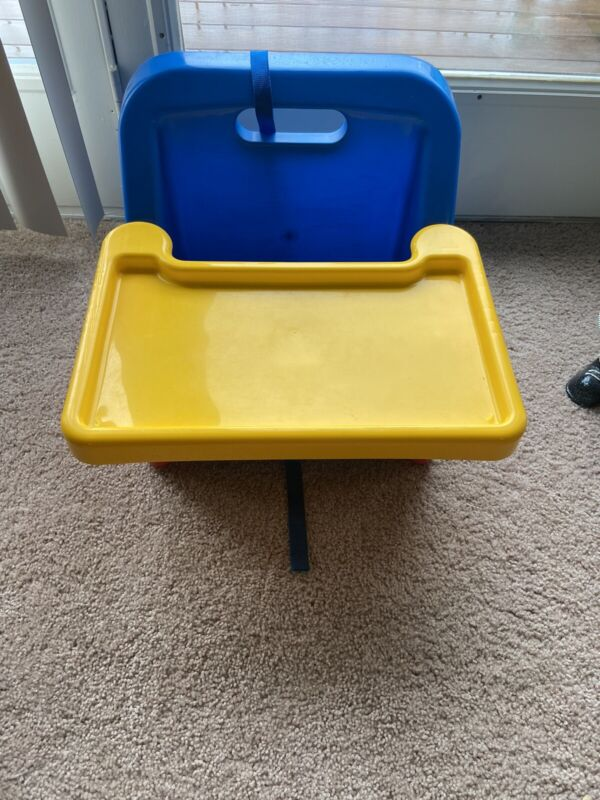 Vintage Safety First 1st Space -Saver  Fold Up Booster Seat Tray & Straps Chair
