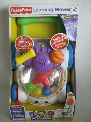 Fisher Price Laugh and Learn Mower Educational Shapes ABC's New In Box