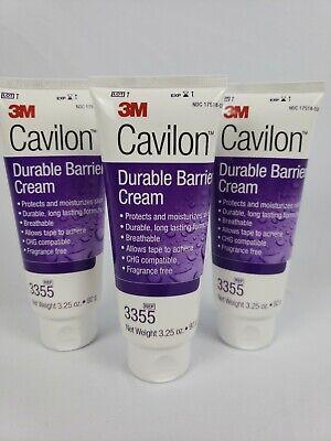 3 - 3M Cavilon Durable Barrier Cream, 3.25 oz, Fragrance Free, #3355 Protect Cavilon Durable Barrier Cream