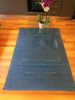 Turkish. Hand woven rug 100% Cotton