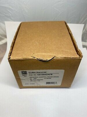 Nib Cutler Hammer Industrial Control Transformer C0150e2afb New In Box Free Ship