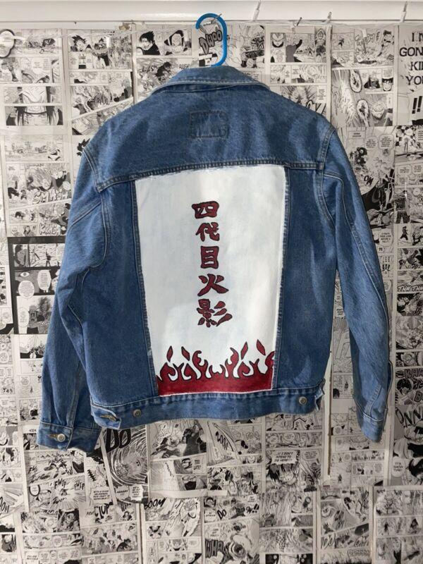 naruto denim jacket