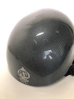 PRO-TEC ACE Snow Free Ride Snow/Ski helmet size XL  carbon fiber - Carbon Fiber Ski Helmet
