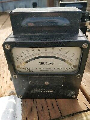 Vintage Western Electrical Instrument Corp Model 433 Is-185 Volt Meter Ac 25-125
