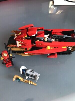 Lego Ninjago Kai Blade Cycle With Figurines And Accessories Full Set Red