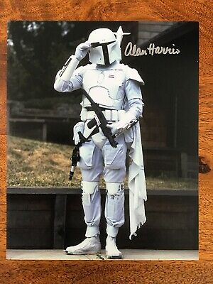Star Wars Boba Fett Signed Photo