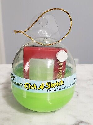 2005 Ohio Art Miniature Etch A Sketch Christmas Ornament NEW Sealed