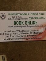 (Free cleaning) University dental hygiene clinic