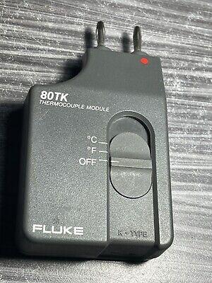 Fluke 80tk Digital Multimeter K-type Thermocouple Converter Module Only
