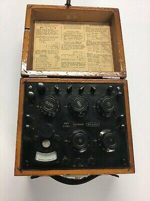 Vintage Beckman Ohms Meter Great Condition