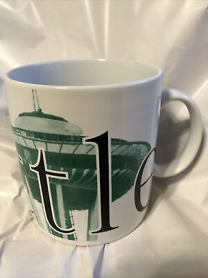VTG 1994 Starbucks City Mug Seattle Collector's Series Coffee 20 oz Space Needle