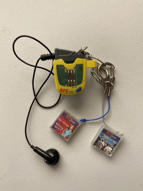 Tiger HIT CLIPS Micro Personal Player with Backstreet Boys & Brittany Spears